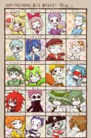 Happy Tree Friends Anime Cual de ellos prefieres by Battagua