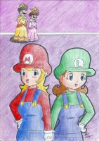 Mario : Switch by daisy4ever1997