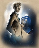 Dr.Who 10th doctor A by SilviaMihailescu