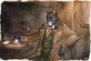 Blacksad by Waprom