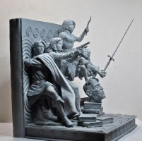 Fables Bookends, 2 by LocascioDesigns