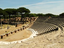 Rome - Ostia Antica by PhilsPictures