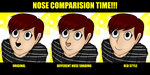 Comparing Nose Styles - READ DESC! by DannyU