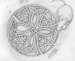 Celtic Mouse by thecrab