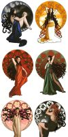 Art Nouveau Collected by eyeofrae