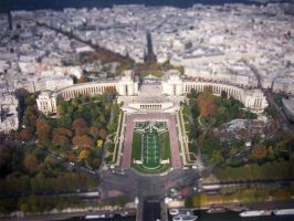 Miniature Paris by Insomnolepsy