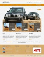 Barcelona WP Theme - JeepDealer Showcase Example by ait-themes