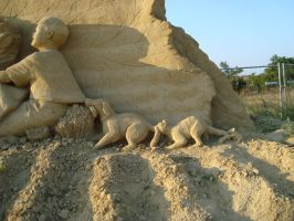 Sand art in burgas 25 by tonev