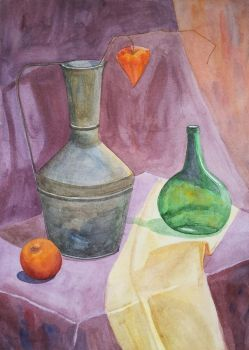 Jug and bottle by Luzblanca