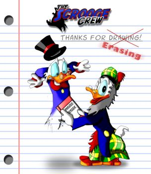 Thanks for...errasing by U.L. by TheScroogeCrew