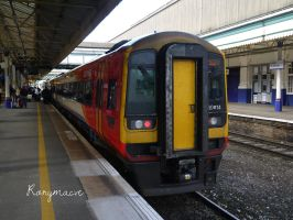 Southwest Trains 159014 at Exeter St Davids by The-Transport-Guild