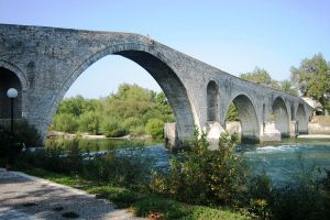 Greece, Arta bridge by elodie50a