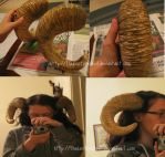 Faun Horns Complete by TheRootOfAllEvil