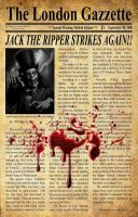 Jack the Ripper by WayneReinagel