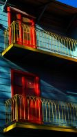 La Boca Painted Building by papatheo