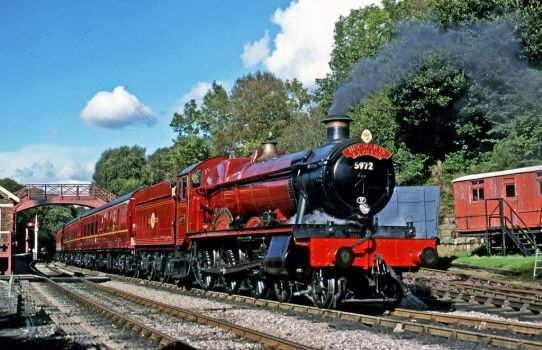 5972 Olton Hall was at Goathland by Ryansmither1