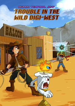 [DTJ] Trouble In The Wild Digi-West COVER by HyperionNova