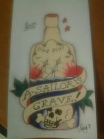 sailor jerry / norman collins by halogirlie