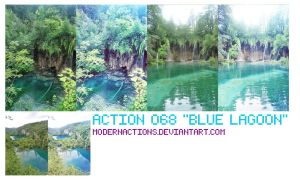 "ACTION 068 ""BLUE LAGOON"" by ModernActions"