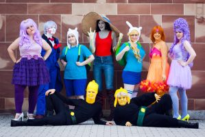 What time is it? Adventure Time! cosplay by LittleGeeky