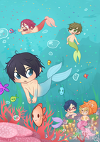 Swim Dorks by cindre