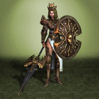 SMITE Athena by ArmachamCorp