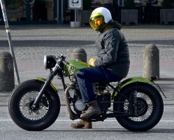 Green Bobber by cmdpirxII
