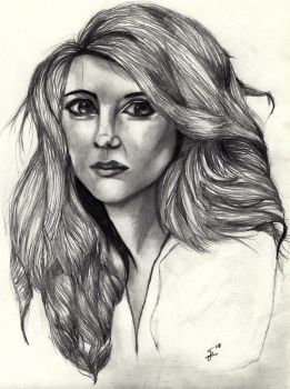 The first female Doctor - Traditional piece. by Laurenthebumblebee