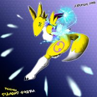 Renamon by Gambits-Wild-Card