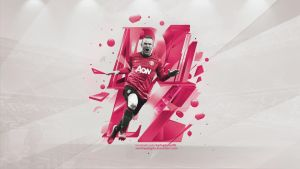 Wayne Rooney Wallpaper by SemihAydogdu