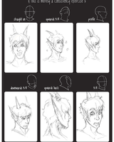 Head Practise by Mlle-Tenebrist