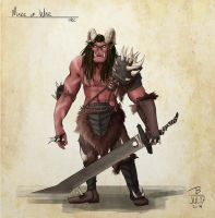 Mark of War - Orc by PeopleEveryday