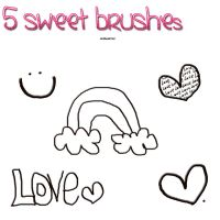5sweetbrusshes by demsloppez