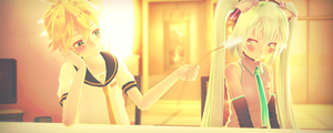 [MMD] I love you/I hate you by MMDMikuMikuLen