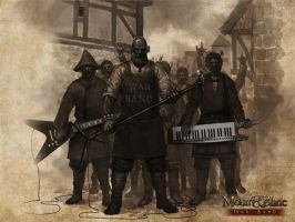 Fotomontage-War Band by petr-bukovjan
