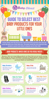Guide To Select Best Baby Products For Your Little by Baby-Direct