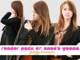 Render pack #7: SNSD's YoonA by shiningday