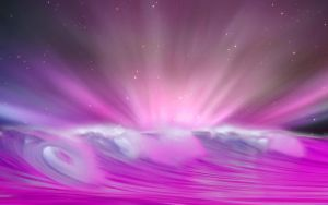 Aurora wave pink by Pinkie75