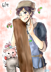 Happy Birthday Donnel!! by angiecake66
