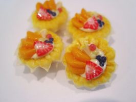 Mini Fruit Tartlets by WaterGleam