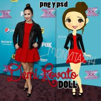 Demi Lovato Doll! by monxita244