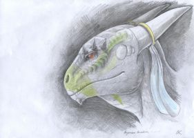 Argonian by Lailie-Dragon-Lovard