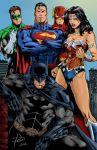 Justice League by danielcotov