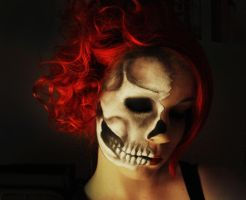 Skull Without Blood by viglaseni