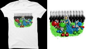 Mother of yoshi tee design by El-Be