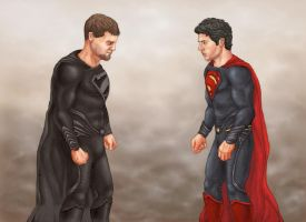 Man Of Steel by jamesthemarno