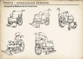 Food Feud - Wheelchair Designs by mhofever