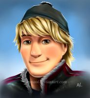 Kristoff -colored- by annaoi