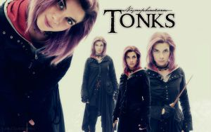 Tonks Wallpaper by HumanConstellation