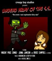 B-Movie Poster: Undead Army... by creepyboy